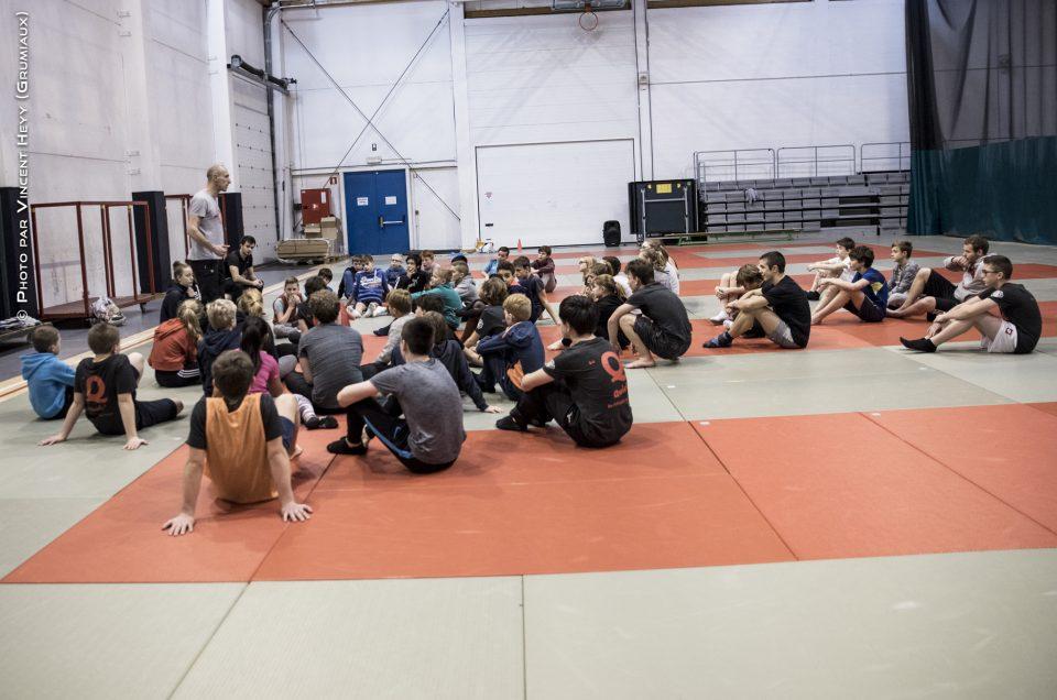 05-01-2018 – Activités – Stage de Judo MONS – Préparatoire aux Championnats des Jeunes